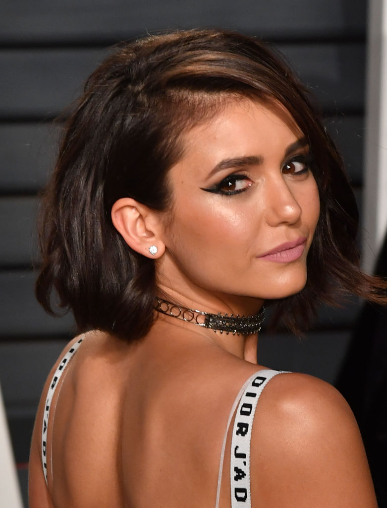 BEVERLY HILLS, CA - FEBRUARY 26:  Nina Dobrev attends the 2017 Vanity Fair Oscar Party hosted by Graydon Carter at Wallis Annenberg Center for the Performing Arts on February 26, 2017 in Beverly Hills, California.  (Photo by C Flanigan/Getty Images)