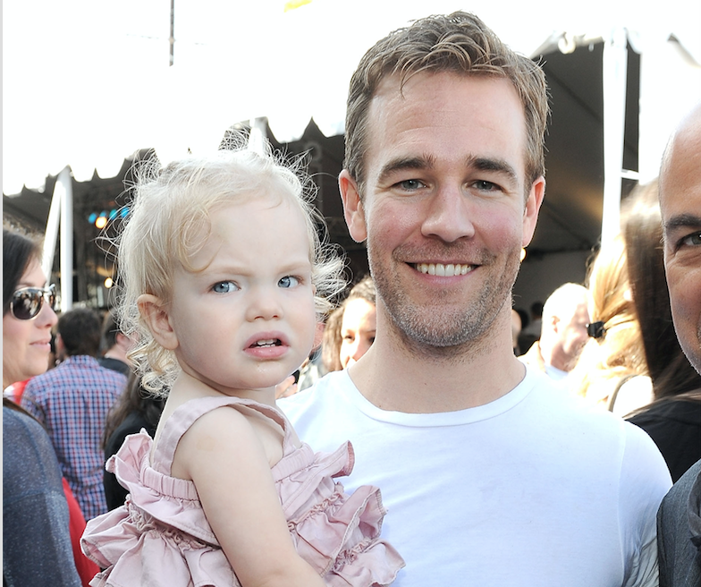 james van der beek daughter