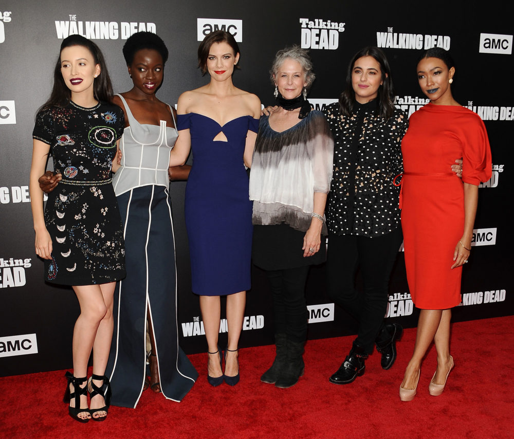 walking dead cast women