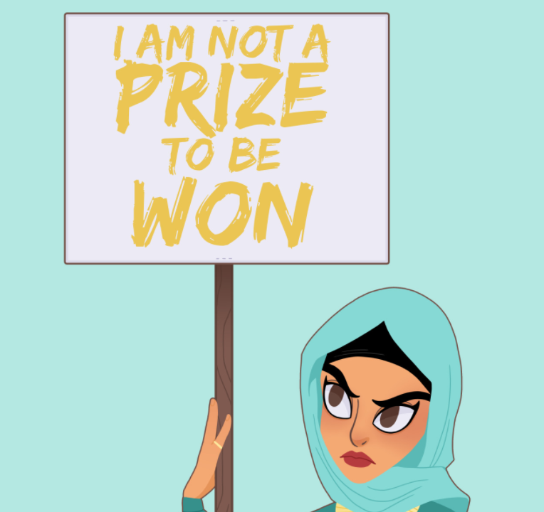 protesting princess jasmine