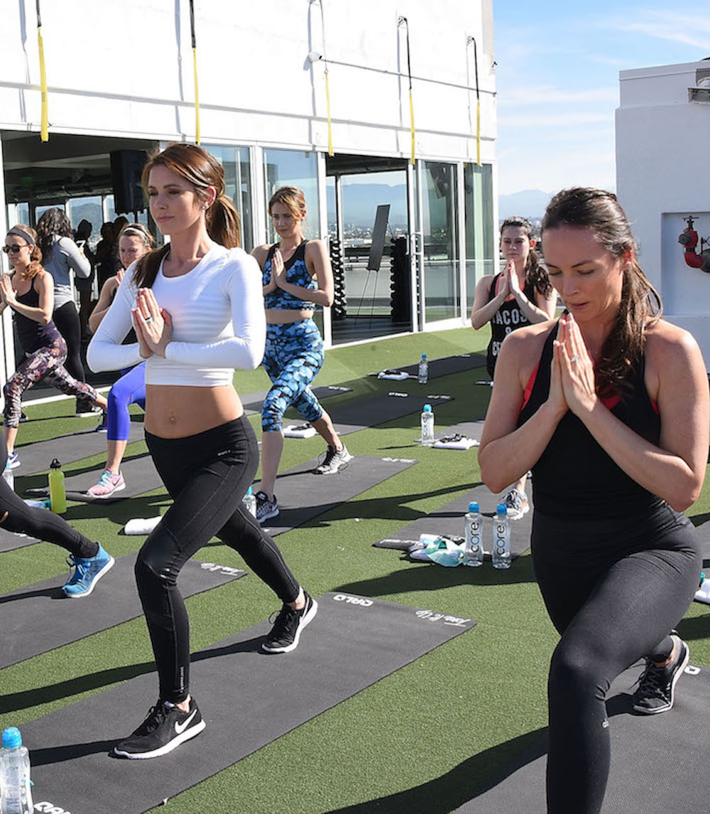 QALO Launches Stackables Collection With Karena and Katrina From Tone It and Audrina Patridge