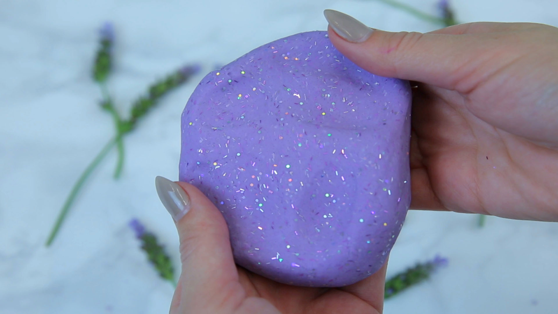 Anti-Stress Lavender Putty
