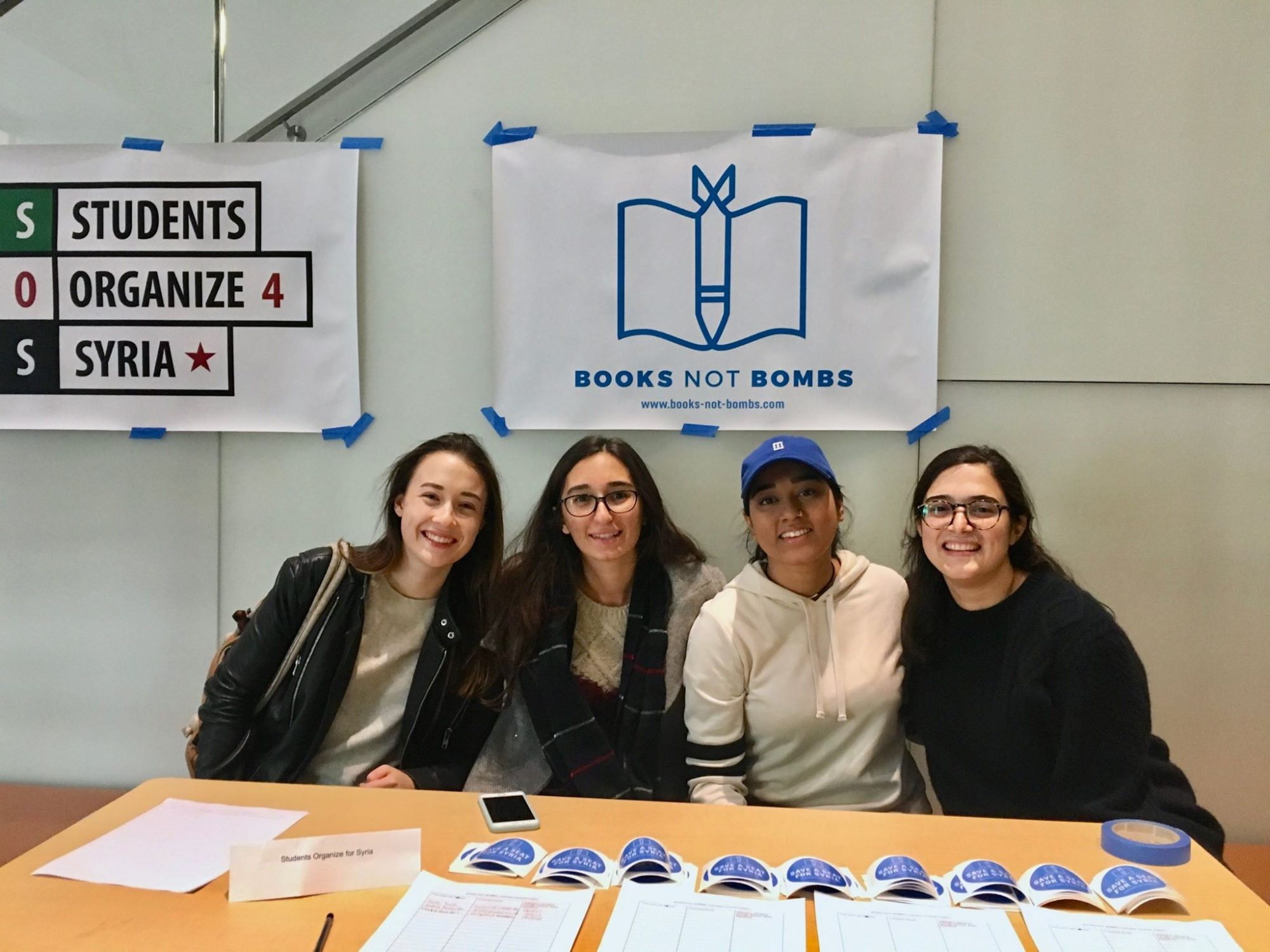 Barnard women organizers