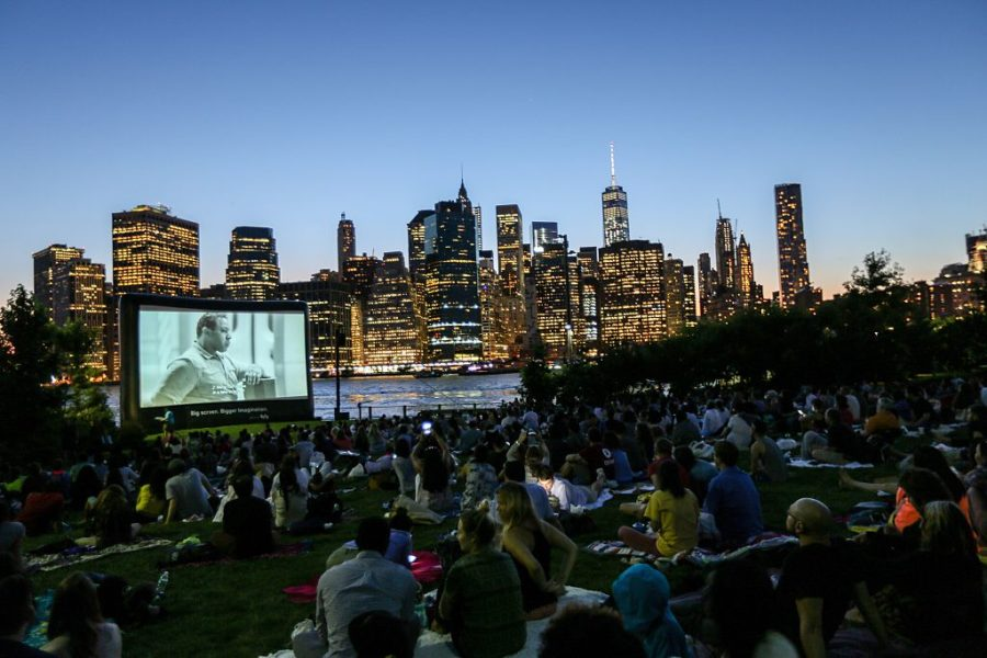 New York outdoor movies