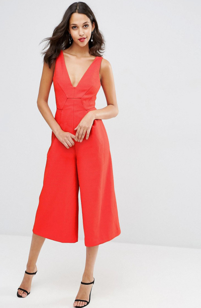 Premium Structured Jumpsuit, ASOS, £35.00