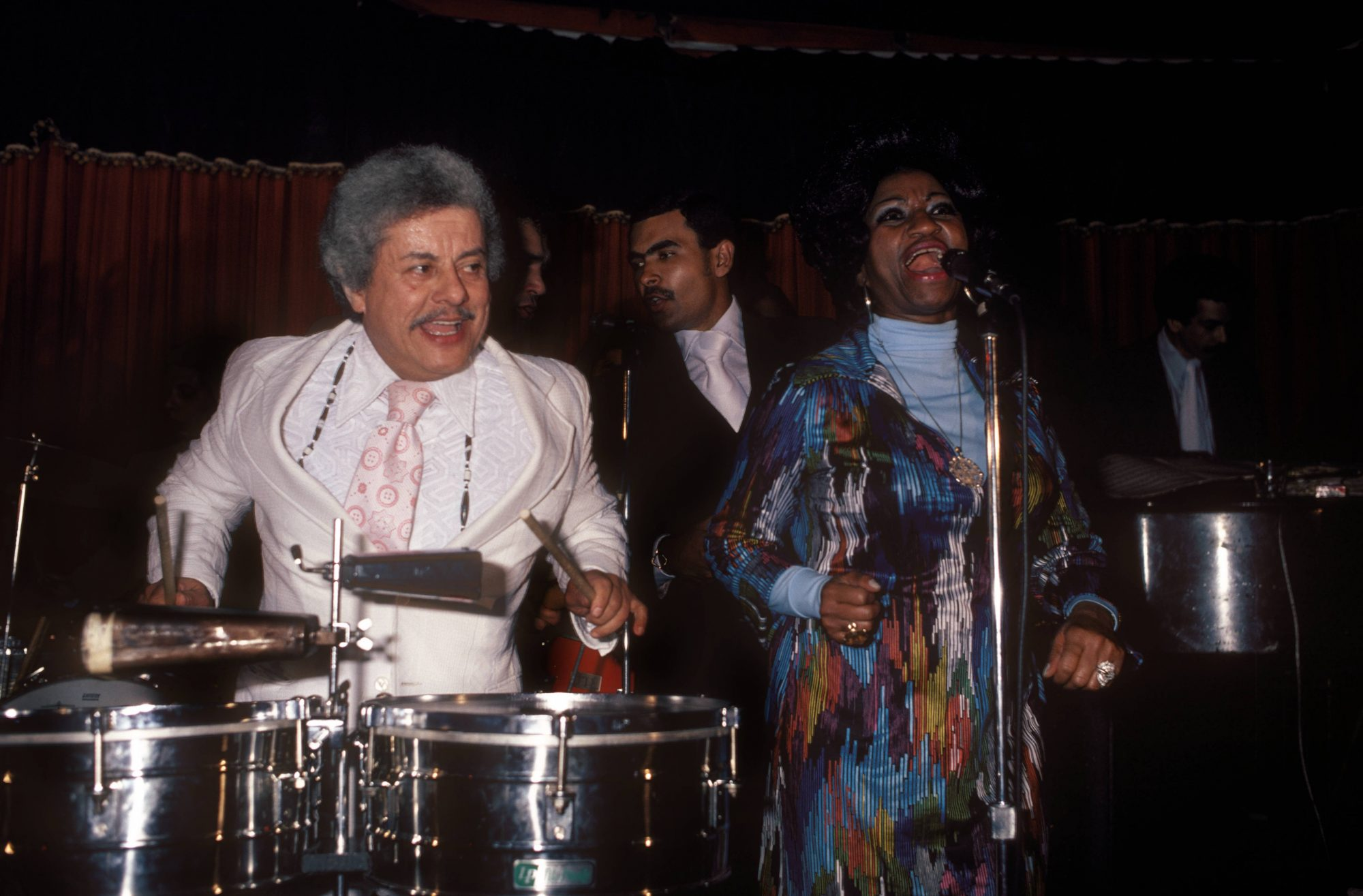 Photo of Celia CRUZ and Tito PUENTE