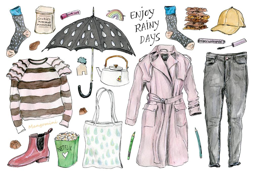 Rainy Days - Cindy Mangomini