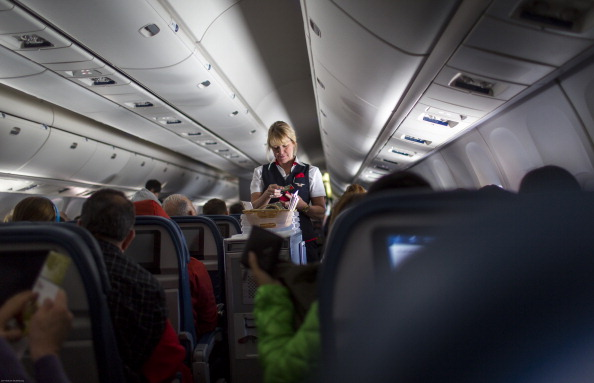 Delta Airlines In Route To California