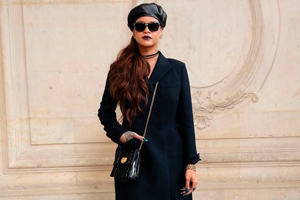 Rihanna beret