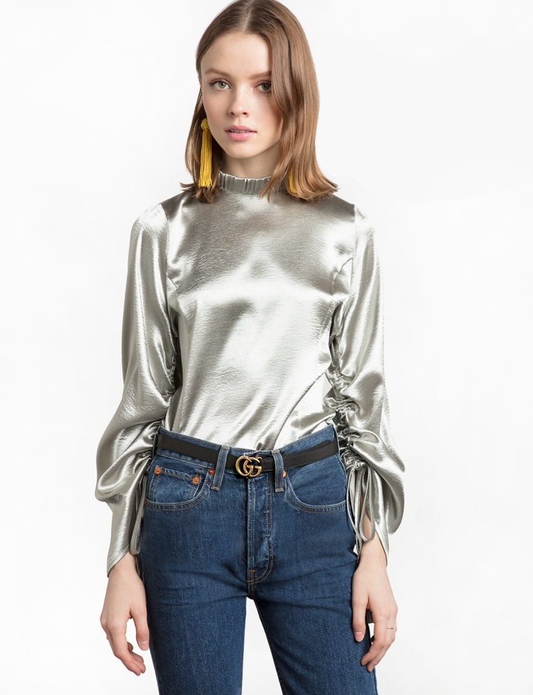 silver metallic trend