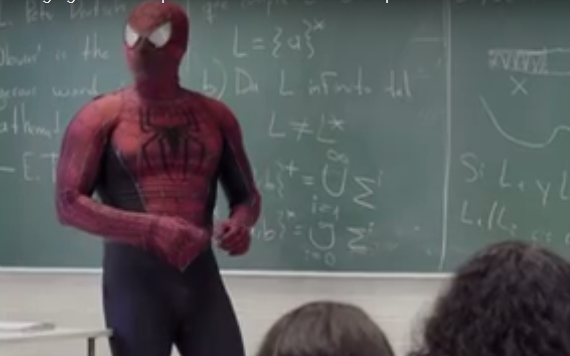 spider-man teacher