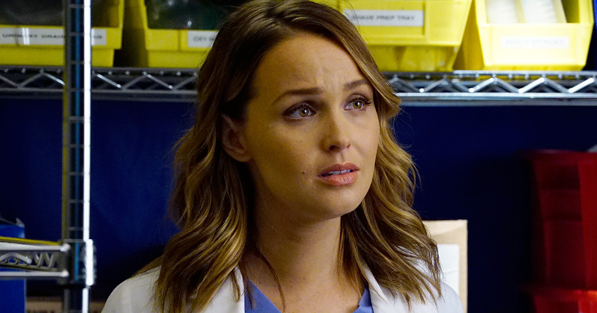 Grey's Anatomy Camilla Luddington