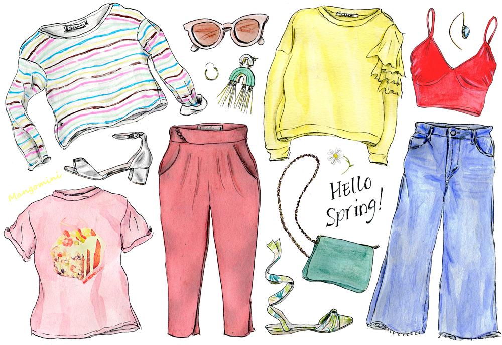 2017 Spring Wardrobe - Cindy Mangomini