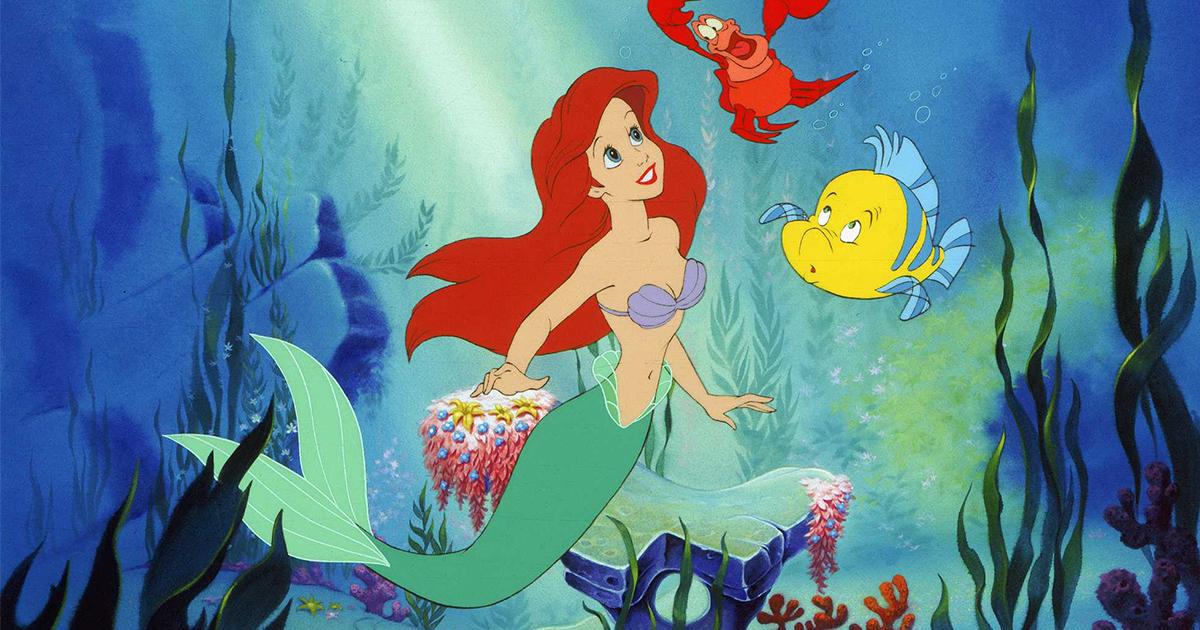 Babysitting teen The Little Mermaid