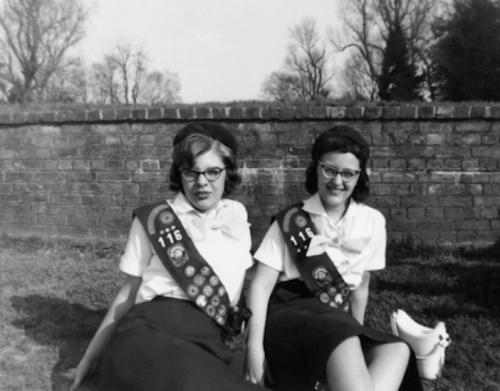 retro girl scouts