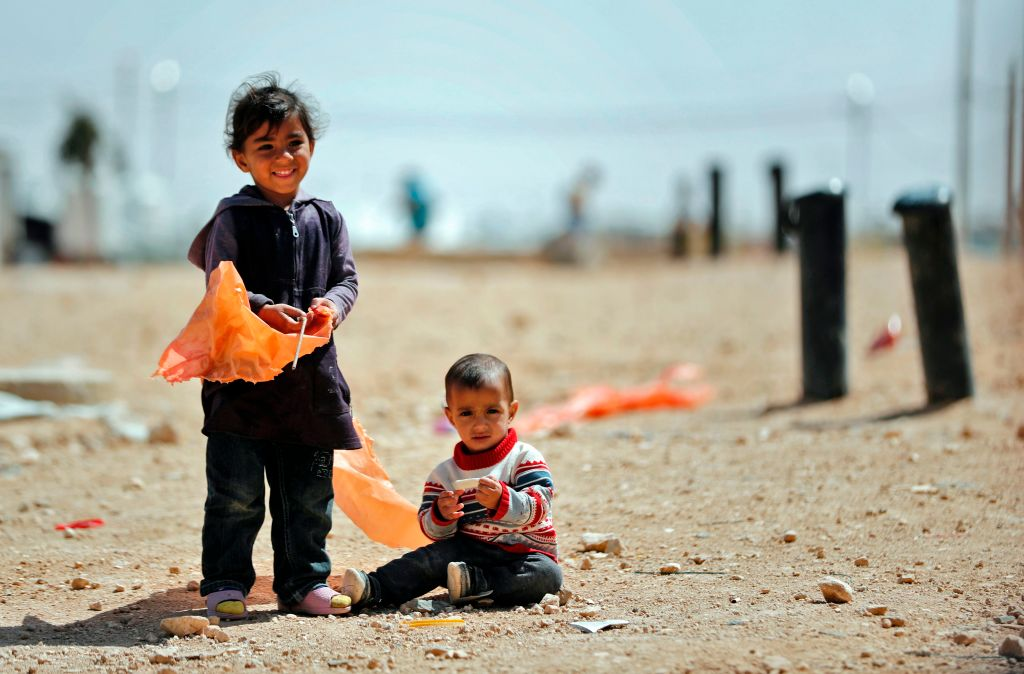 JORDAN-SYRIA-UN-REFUGEES