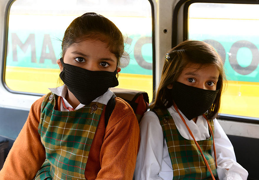 INDIA-ENVIRONMENT-POLLUTION-SCHOOLS