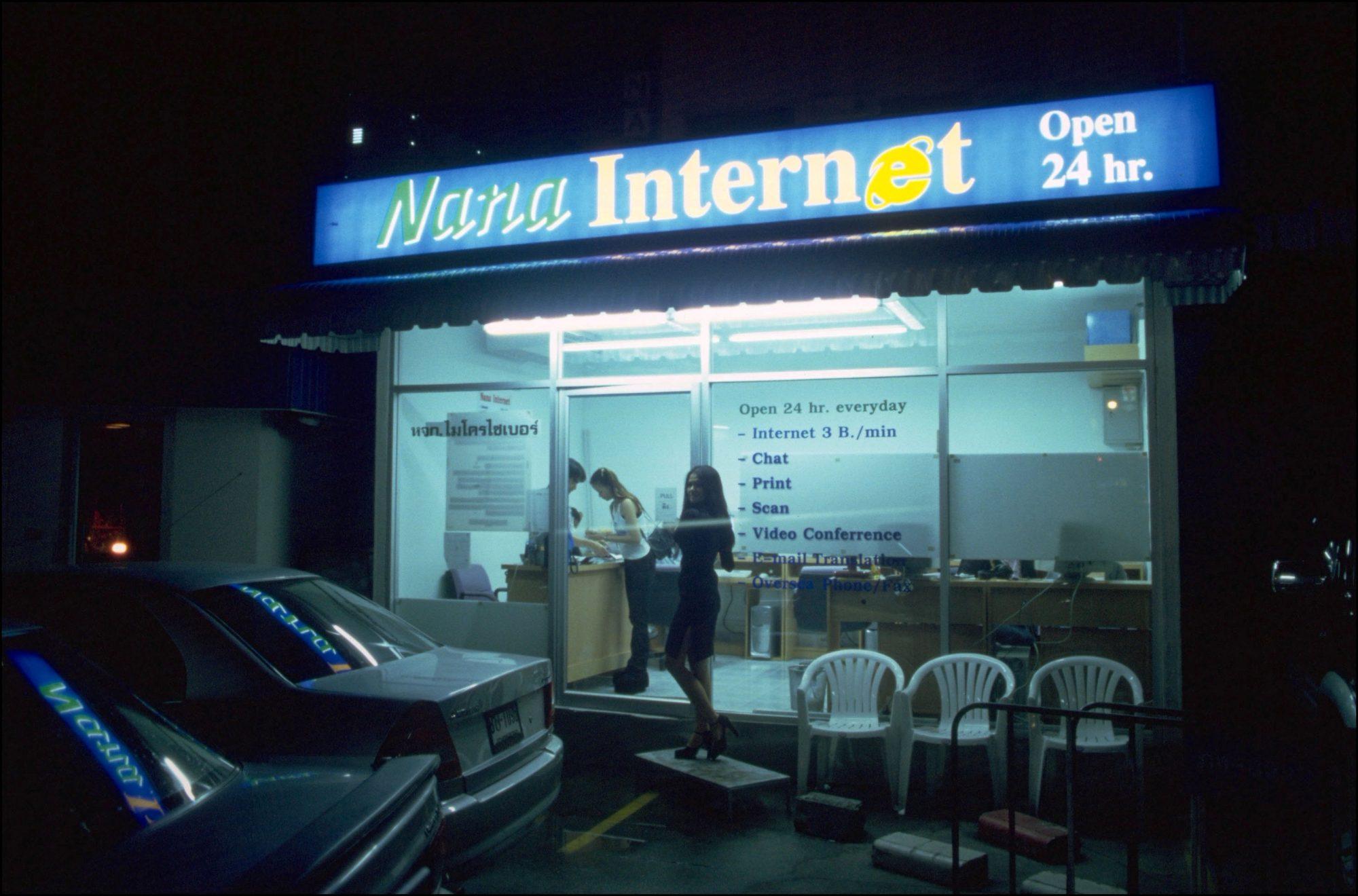 internet cafe bangkok thailand