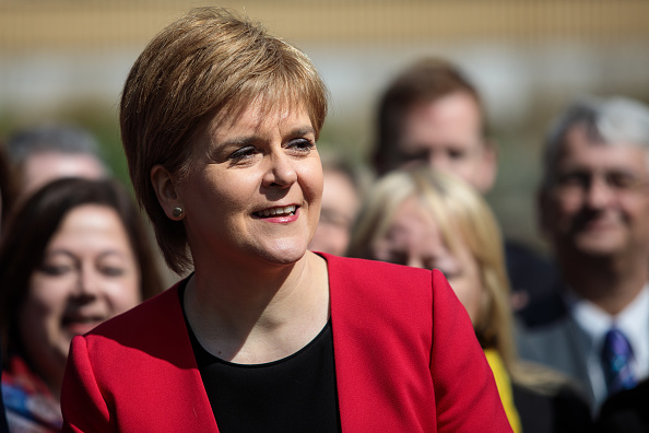 Nicola Sturgeon Is Joined By SNP Westminster Colleagues