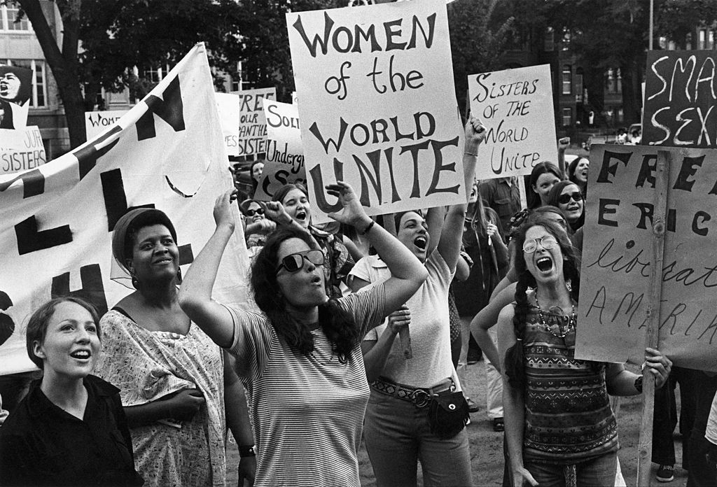 Women'S Liberation Movement In Washington, United States On August 26, 1970 -