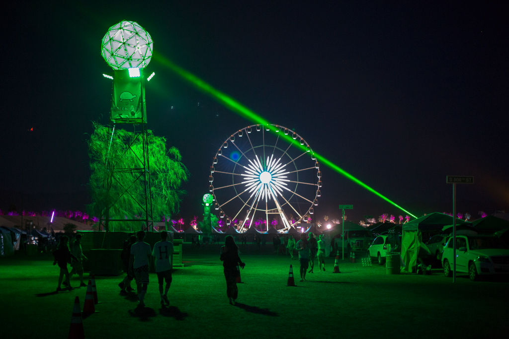 A General View Of 2017 Coachella Valley Music And Arts Festival