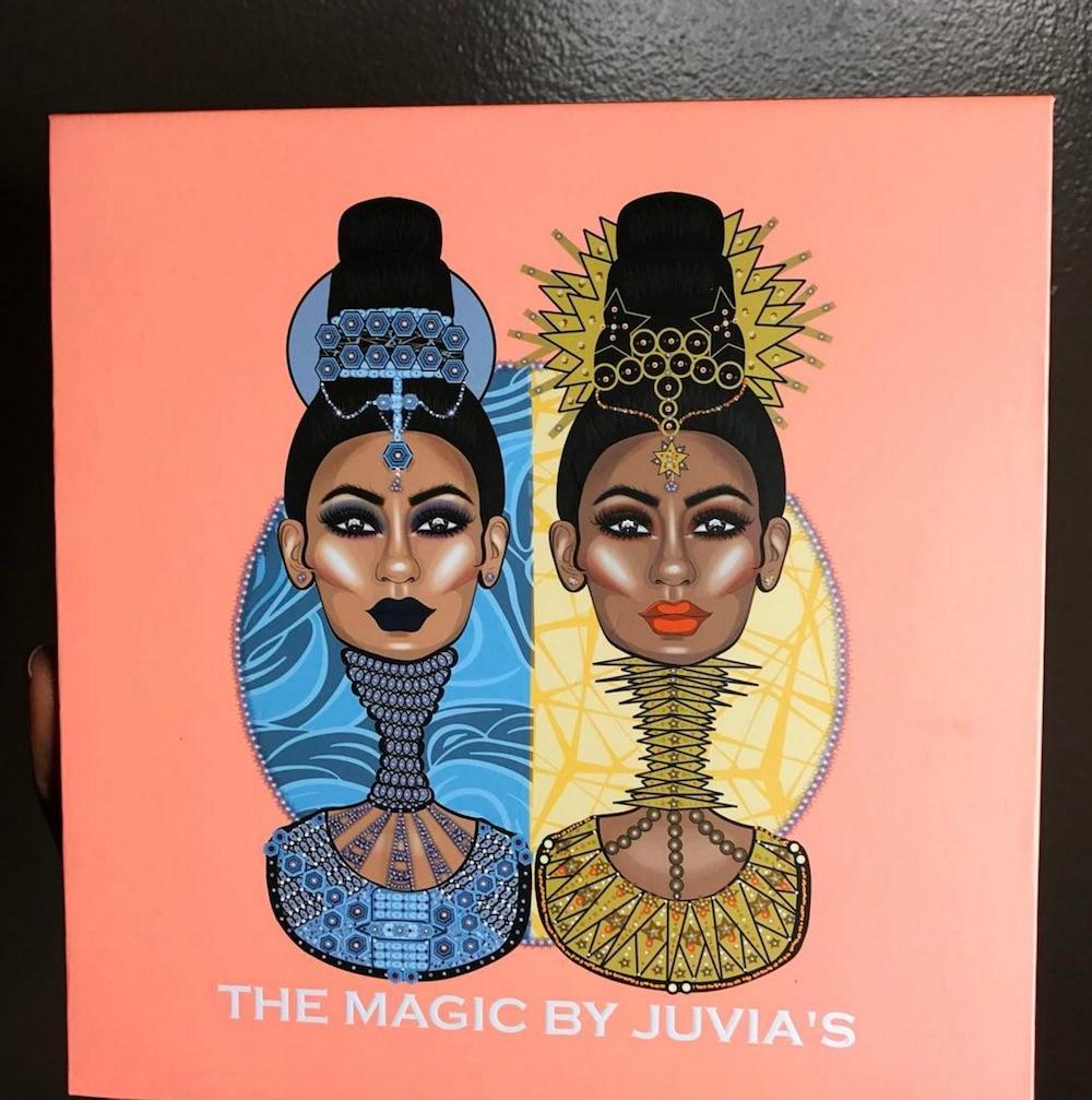 Juvia's eyeshadow palette