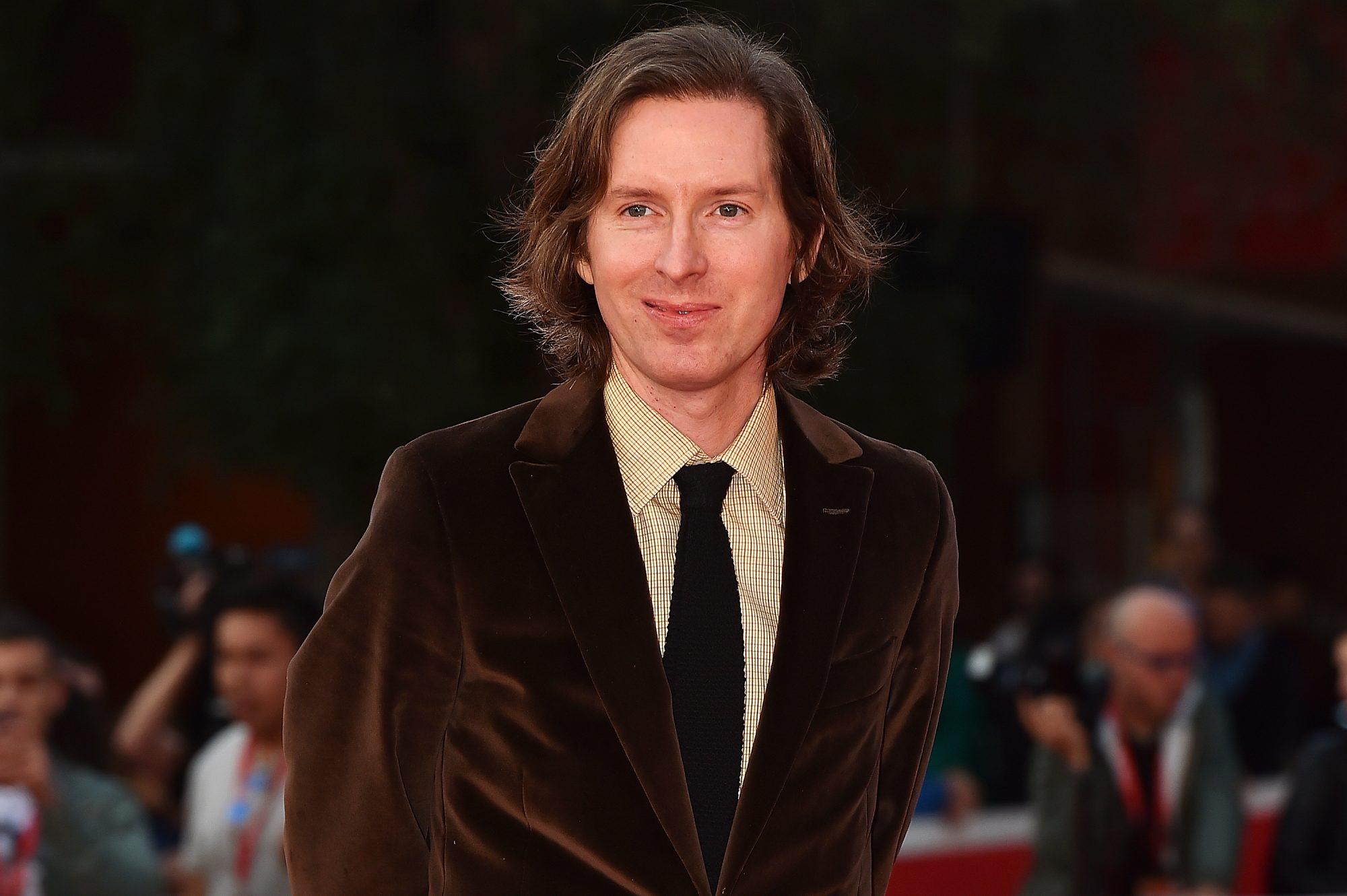 Wes Anderson And Donna Tartt Red Carpet  - The 10th Rome Film Fest