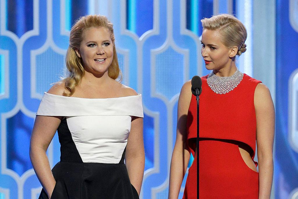 Amy Schumer Jennifer Lawrence Golde Globes