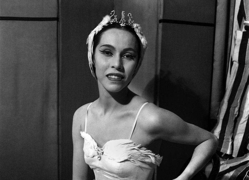 Maria Tallchief - Ballerina. August 1952 C4153