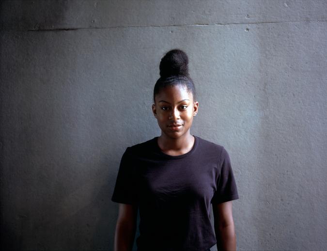 teenage black girl