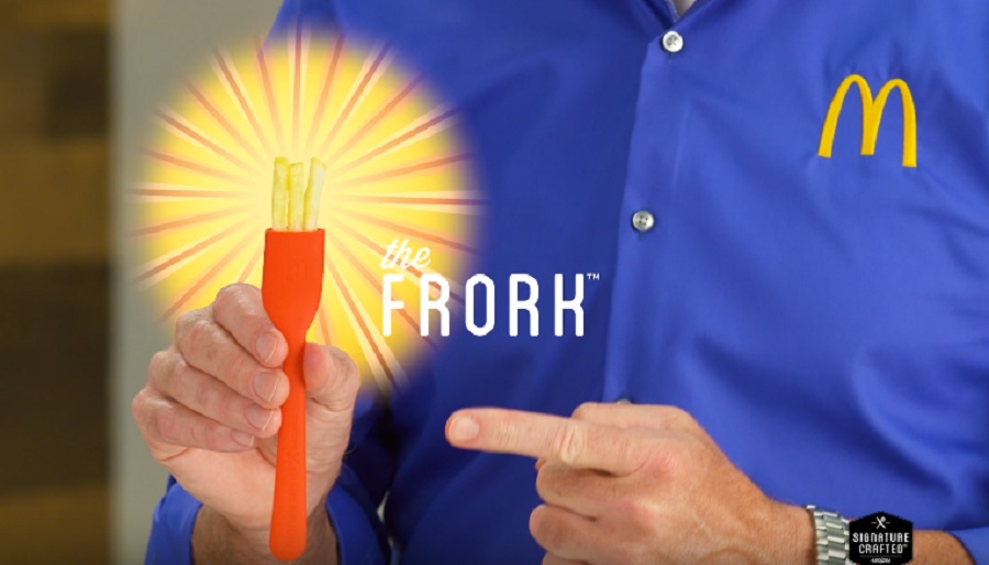 mcdonald's french fry fork