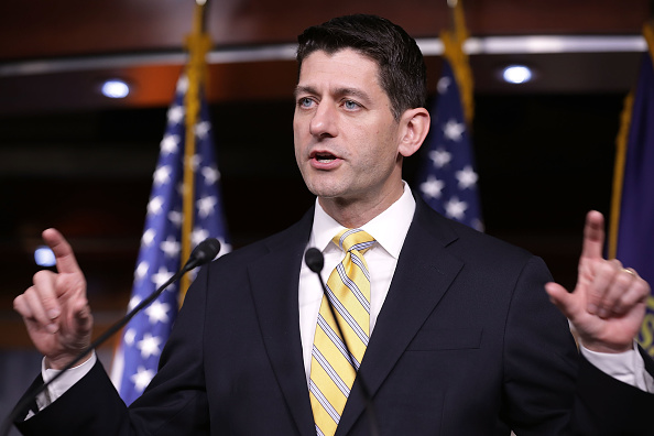 Speaker Paul Ryan Holds Weekly Press Briefing At The Capitol