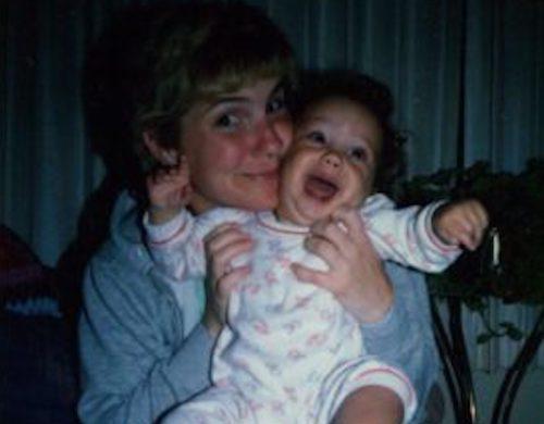 Jessica Tholmer and mom