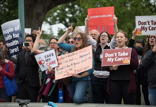 AHCA protest