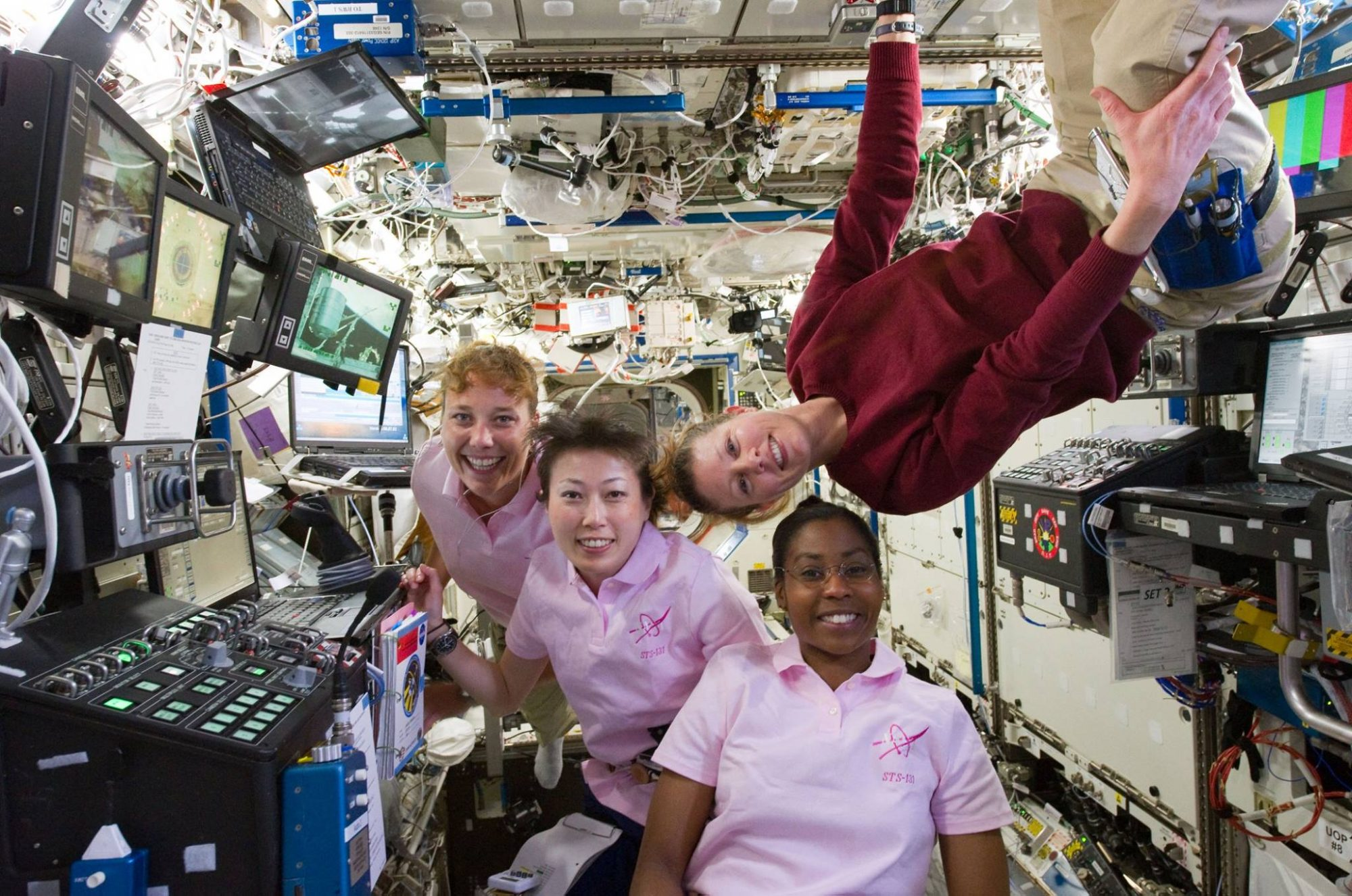women in space STS-131