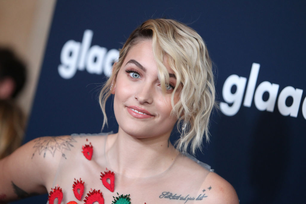 Paris Jackson on the red carpet.