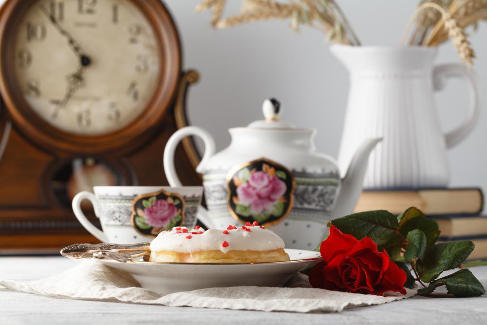 rose donut