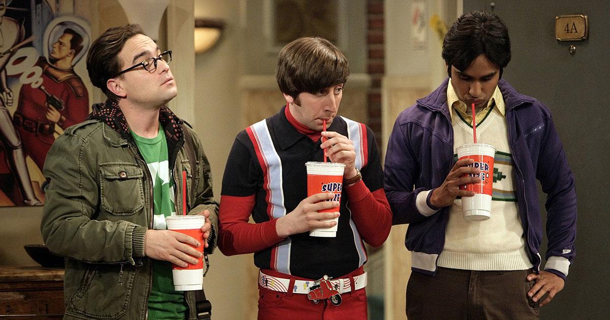 "A still from ""The Big Bang Theory"""