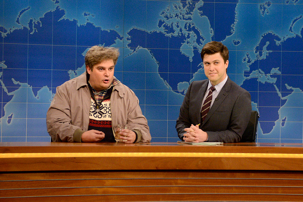 Bobby Moynihan as Drunk Uncle on Saturday Night Live