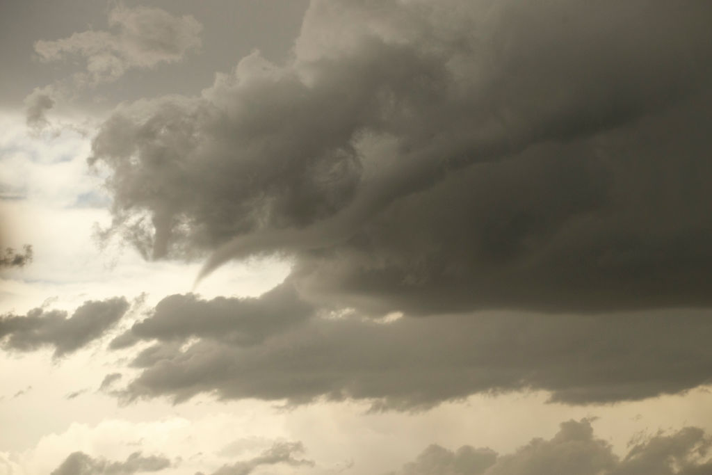 funnel cloud over oklahoma