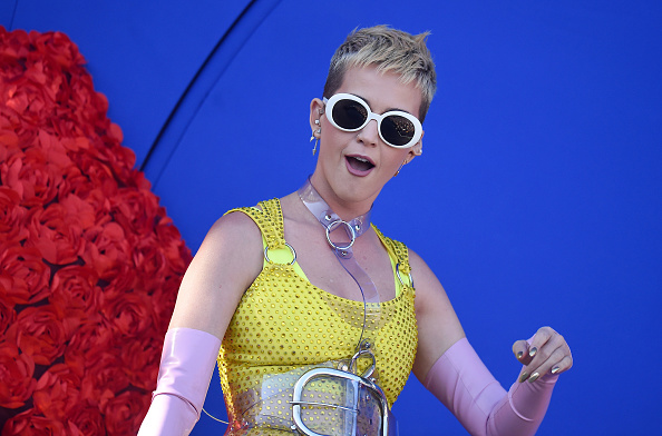 Singer Katy Perry performs at Wango Tango