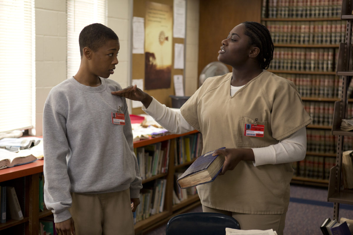 Taystee and Poussey in Orange is the New Black