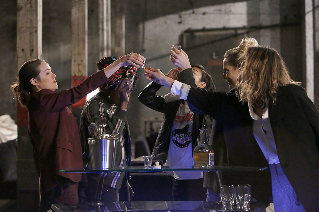The Blacklist toast scene