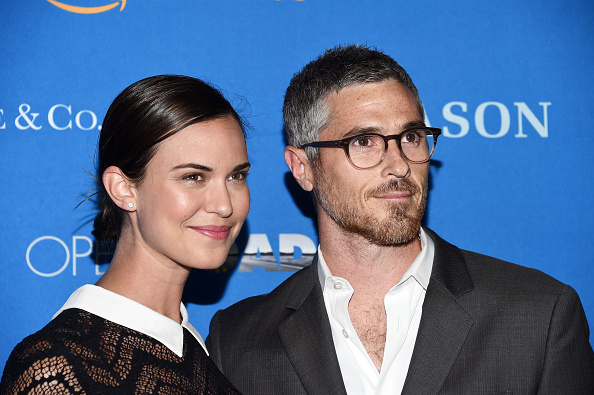Dave and Odette Annable on the red carpet.