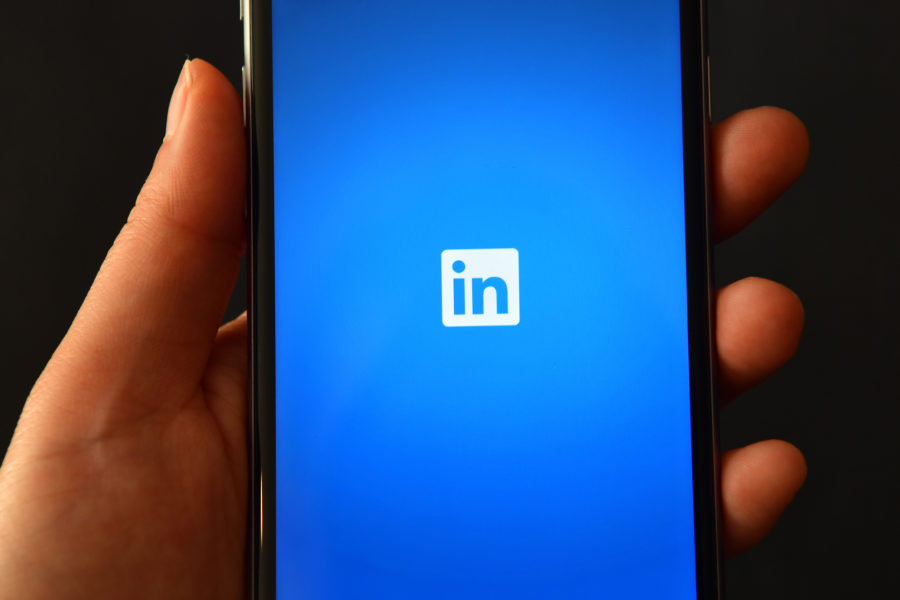 Image of LinkedIn app