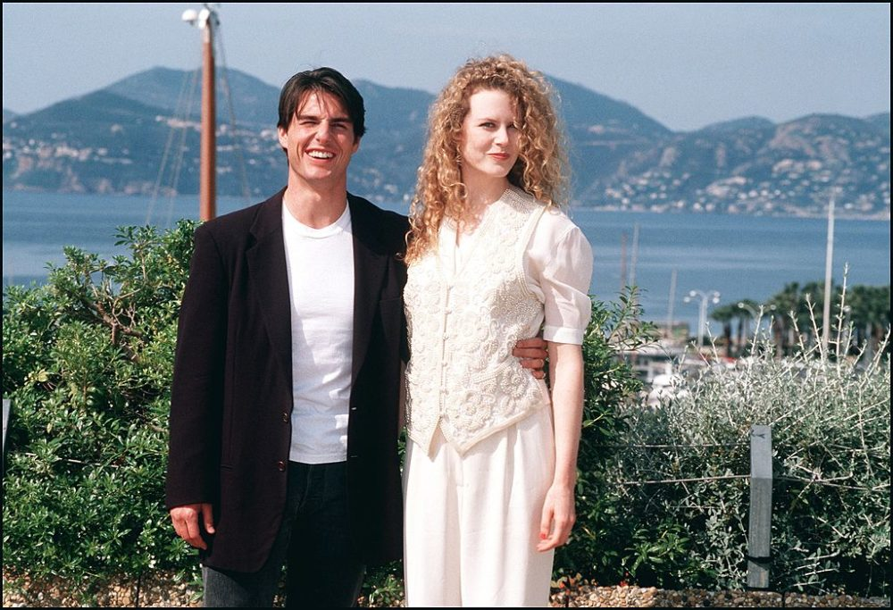 45th Cannes Film festival in Cannes, France on May 17, 1992-Tom Cruise and Nicole Kidman