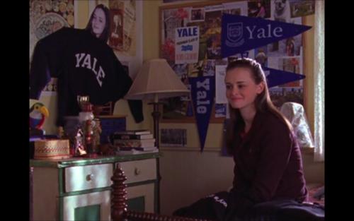 Rory Gilmore in college dorm