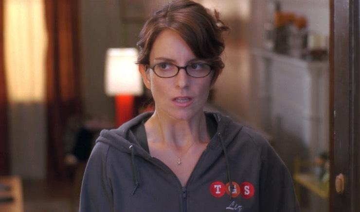 "Tina Fey as Liz Lemon on ""30 Rock"""