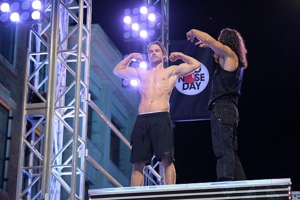 Derek Hough American Ninja Warrior