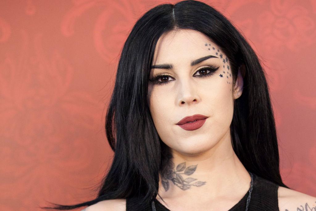 Kat Von D Launches Her Make Up Line In Milan